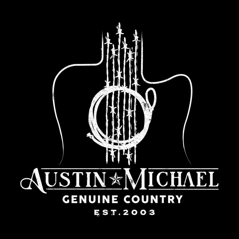 AustinMichael - Genuine Country Design Men's T-Shirt by austinmichaelus's Artist Shop