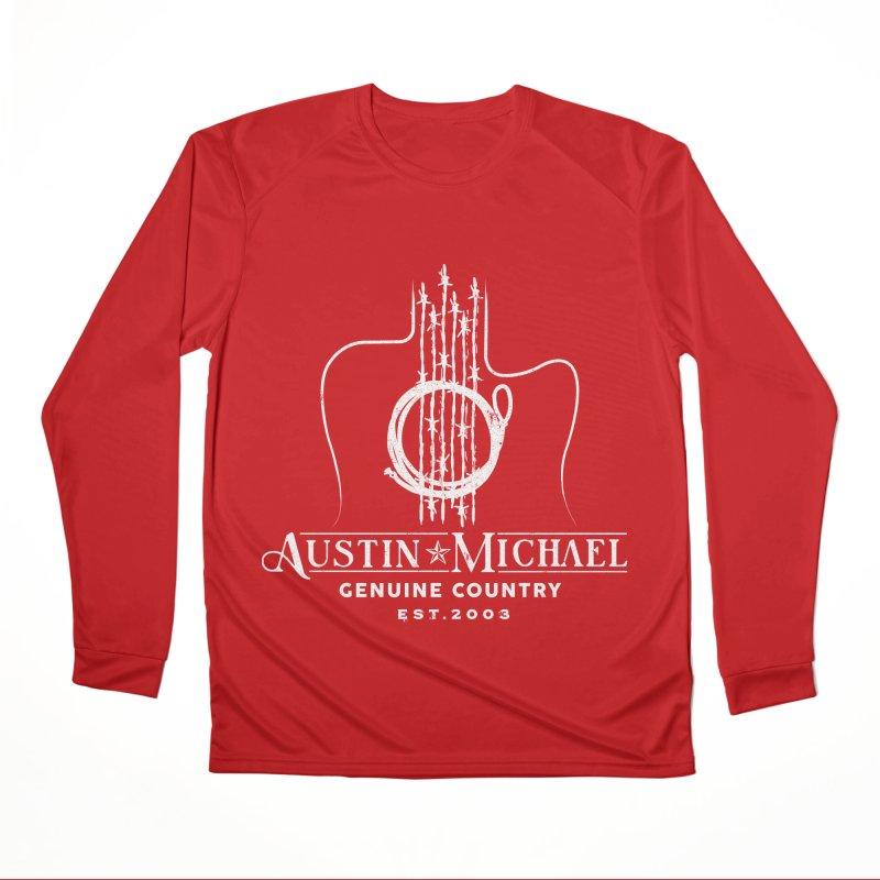 AustinMichael - Genuine Country Design Women's Performance Unisex Longsleeve T-Shirt by austinmichaelus's Artist Shop
