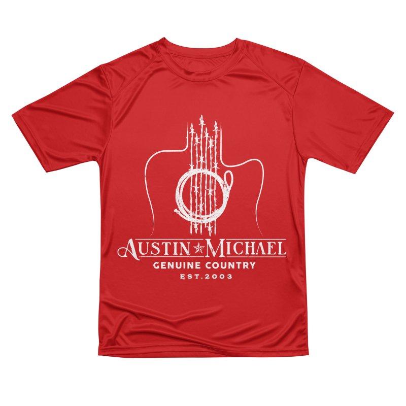 AustinMichael - Genuine Country Design Men's Performance T-Shirt by austinmichaelus's Artist Shop
