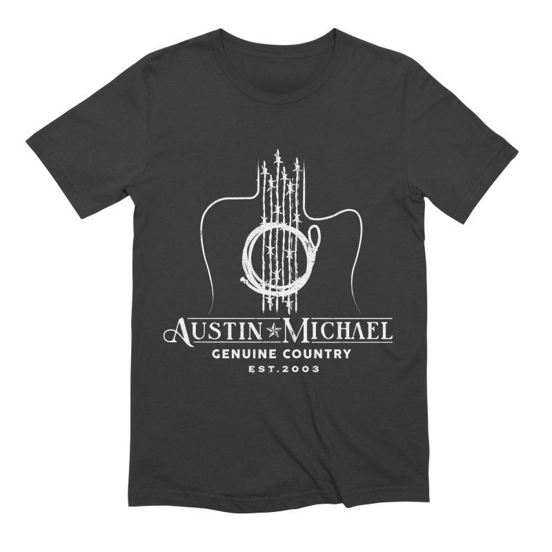 AustinMichael - Genuine Country Design Men's T-Shirt by austinmichaelus's Artist Shop