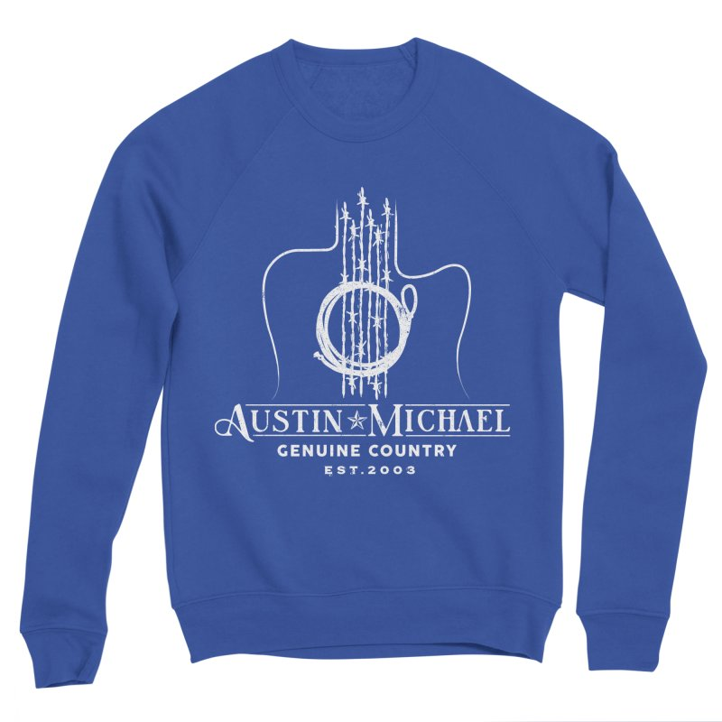 AustinMichael - Genuine Country Design Men's Sweatshirt by austinmichaelus's Artist Shop