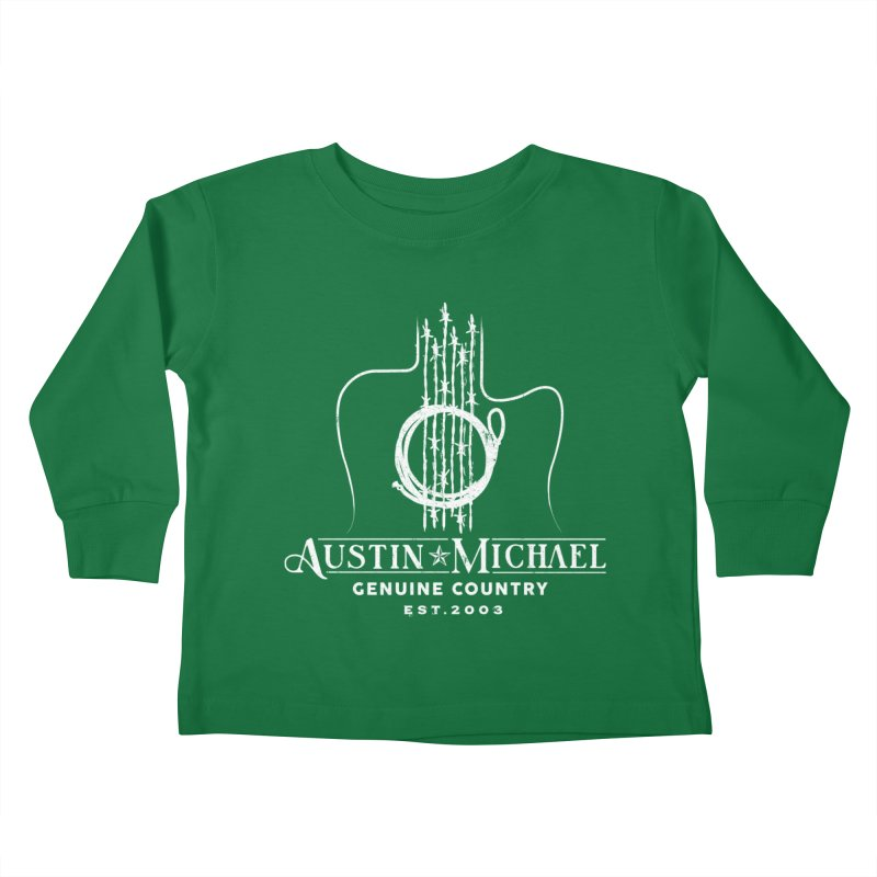 AustinMichael - Genuine Country Design Kids Toddler Longsleeve T-Shirt by austinmichaelus's Artist Shop