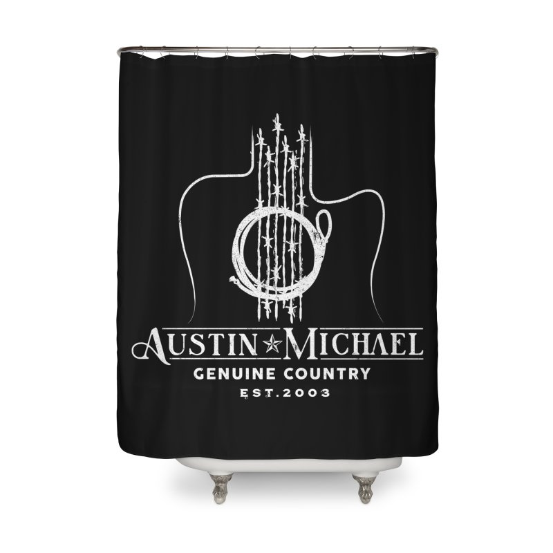 AustinMichael - Genuine Country Design Home Shower Curtain by austinmichaelus's Artist Shop