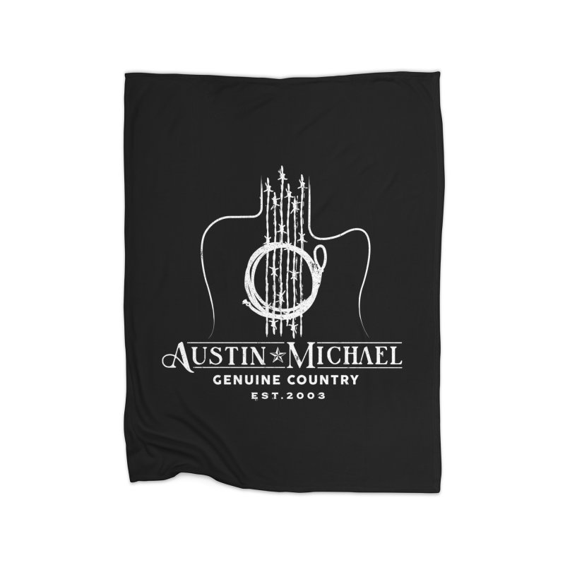 AustinMichael - Genuine Country Design Home Fleece Blanket Blanket by austinmichaelus's Artist Shop