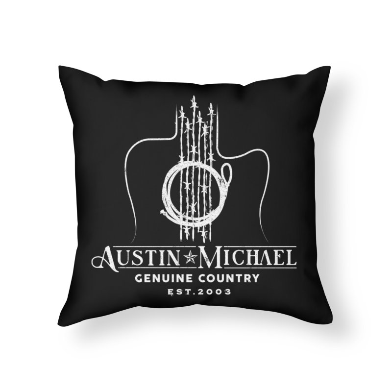 AustinMichael - Genuine Country Design Home Throw Pillow by austinmichaelus's Artist Shop