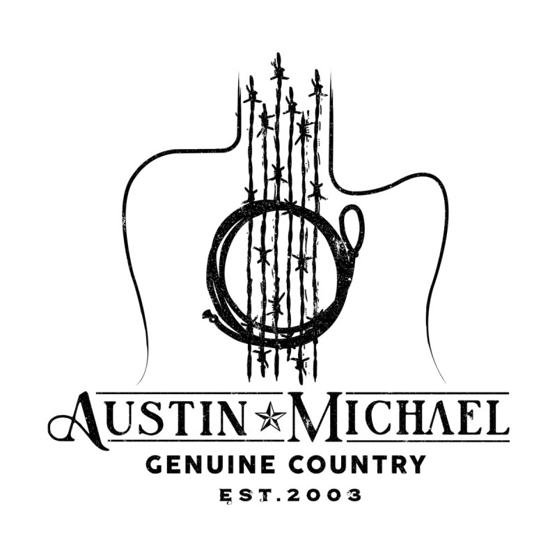 Austin Michael Genuine Country - Light Colors Accessories Sticker by austinmichaelus's Artist Shop