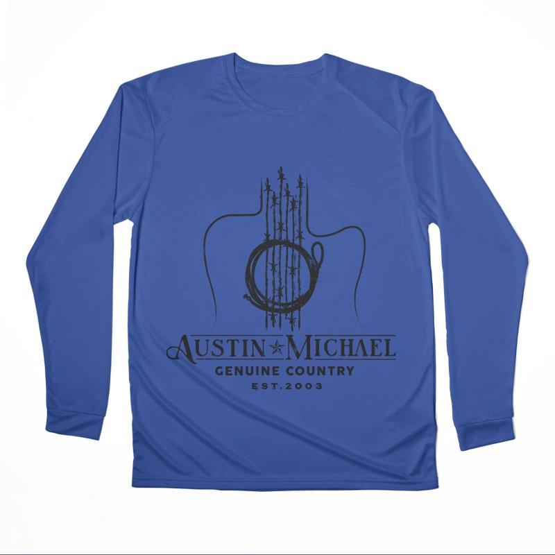 Austin Michael Genuine Country - Light Colors Men's Longsleeve T-Shirt by austinmichaelus's Artist Shop