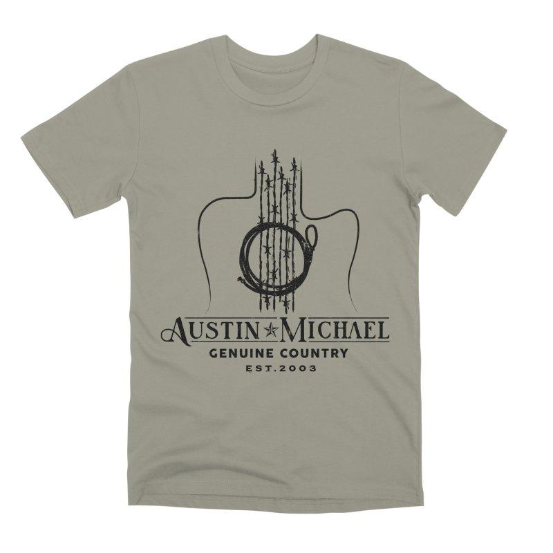 Austin Michael Genuine Country - Light Colors Men's Premium T-Shirt by austinmichaelus's Artist Shop
