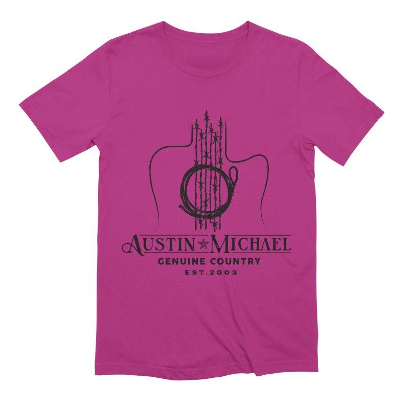 Austin Michael Genuine Country - Light Colors Men's Extra Soft T-Shirt by austinmichaelus's Artist Shop
