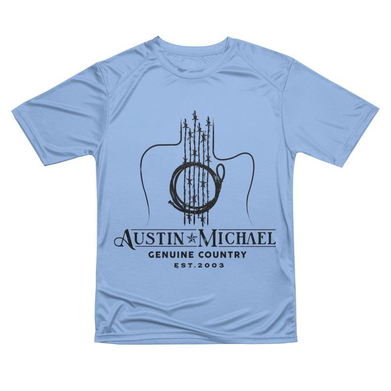 Austin Michael Genuine Country - Light Colors Men's Performance T-Shirt by austinmichaelus's Artist Shop