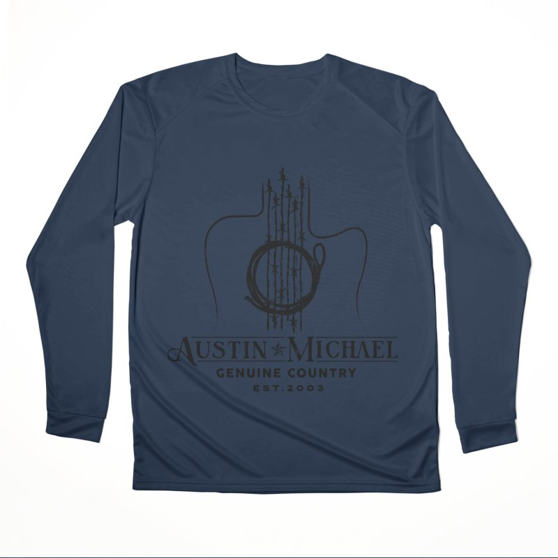 Austin Michael Genuine Country - Light Colors Women's Performance Unisex Longsleeve T-Shirt by austinmichaelus's Artist Shop