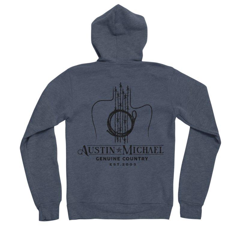 Austin Michael Genuine Country - Light Colors Men's Sponge Fleece Zip-Up Hoody by austinmichaelus's Artist Shop
