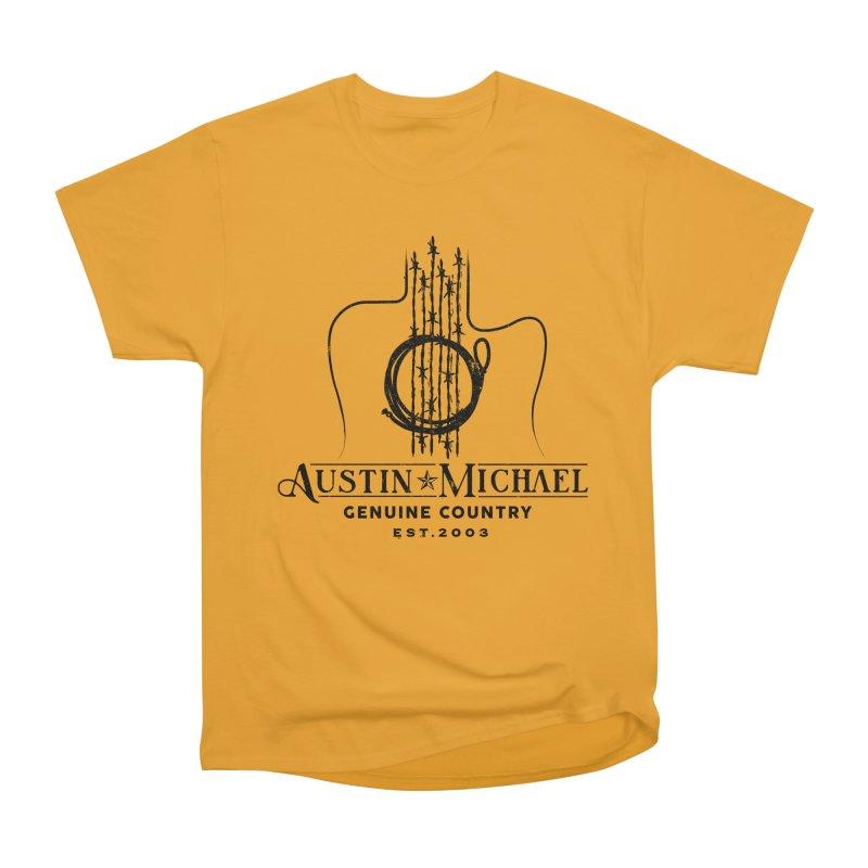 Austin Michael Genuine Country - Light Colors Women's Heavyweight Unisex T-Shirt by austinmichaelus's Artist Shop