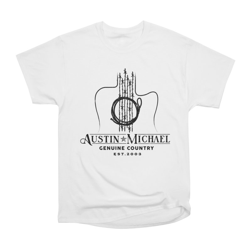 Austin Michael Genuine Country - Light Colors Women's Heavyweight Unisex T-Shirt by austinmichaelus's Artist Shop