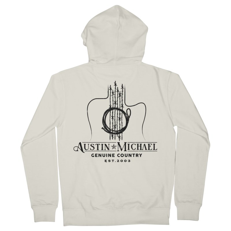 Austin Michael Genuine Country - Light Colors Women's French Terry Zip-Up Hoody by austinmichaelus's Artist Shop