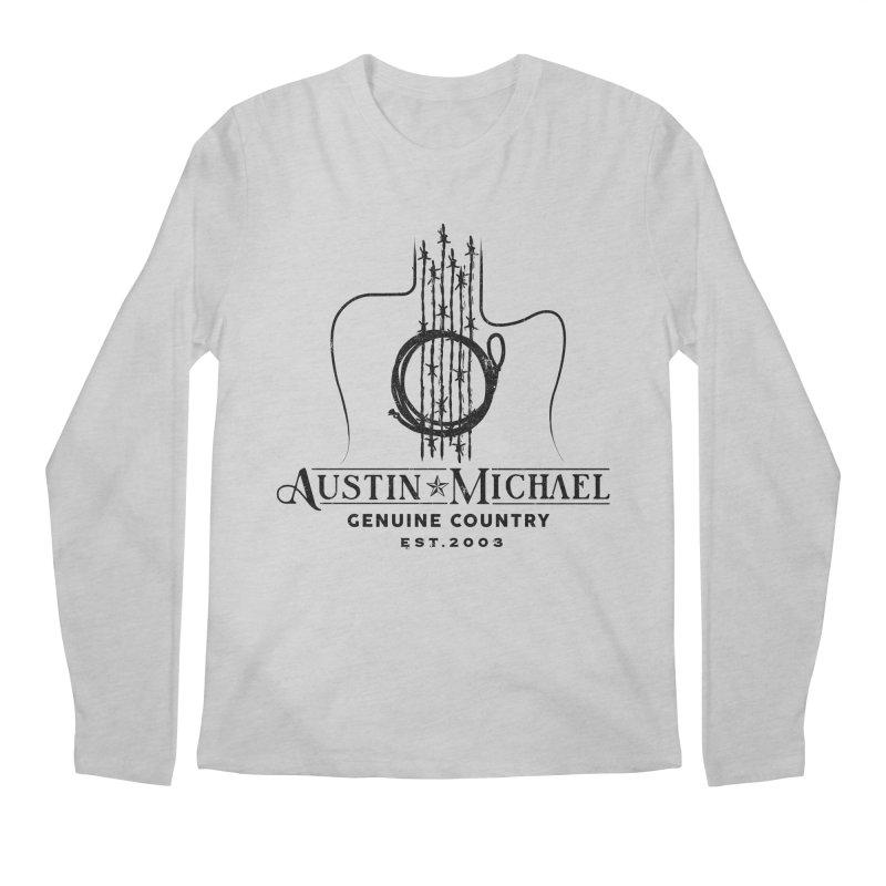 Austin Michael Genuine Country - Light Colors Men's Regular Longsleeve T-Shirt by austinmichaelus's Artist Shop