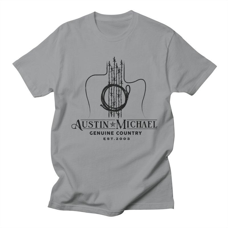 Austin Michael Genuine Country - Light Colors Men's T-Shirt by austinmichaelus's Artist Shop