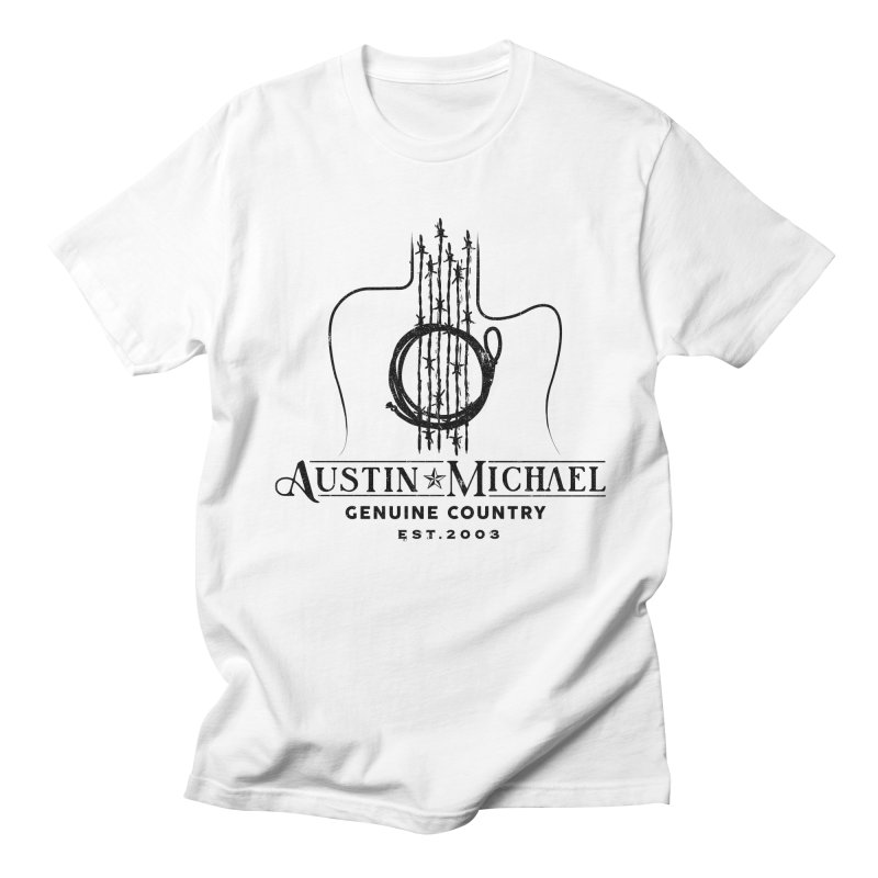 Austin Michael Genuine Country - Light Colors Men's Regular T-Shirt by austinmichaelus's Artist Shop