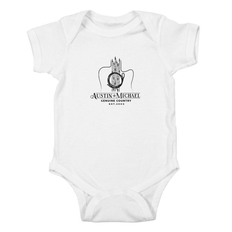 Austin Michael Genuine Country - Light Colors Kids Baby Bodysuit by austinmichaelus's Artist Shop