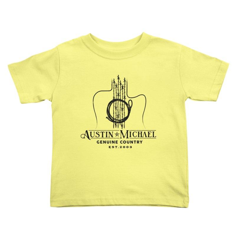Austin Michael Genuine Country - Light Colors Kids Toddler T-Shirt by austinmichaelus's Artist Shop