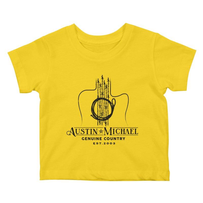 Austin Michael Genuine Country - Light Colors Kids Baby T-Shirt by austinmichaelus's Artist Shop
