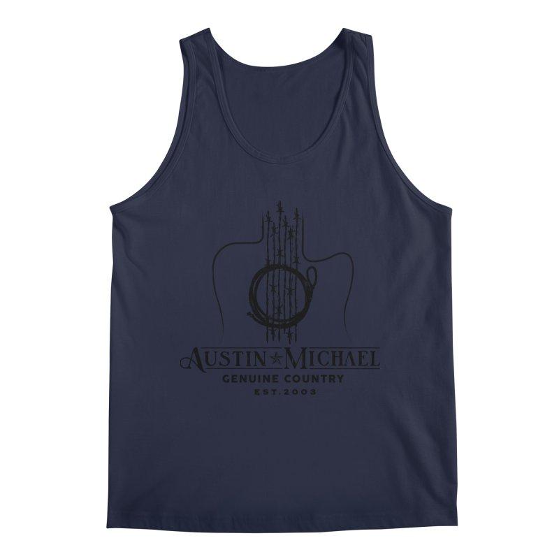 Austin Michael Genuine Country - Light Colors Men's Regular Tank by austinmichaelus's Artist Shop