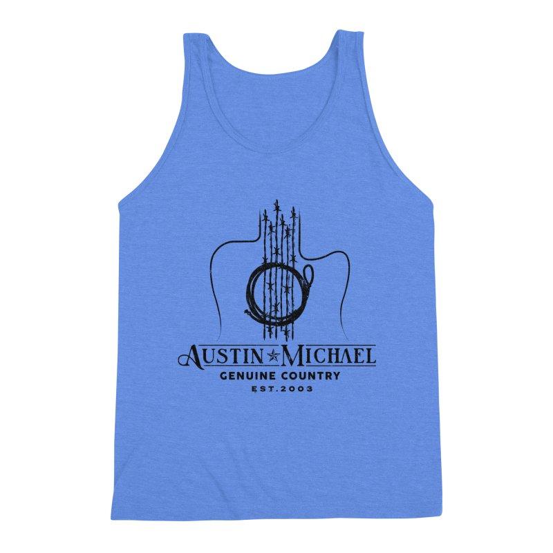Austin Michael Genuine Country - Light Colors Men's Triblend Tank by austinmichaelus's Artist Shop