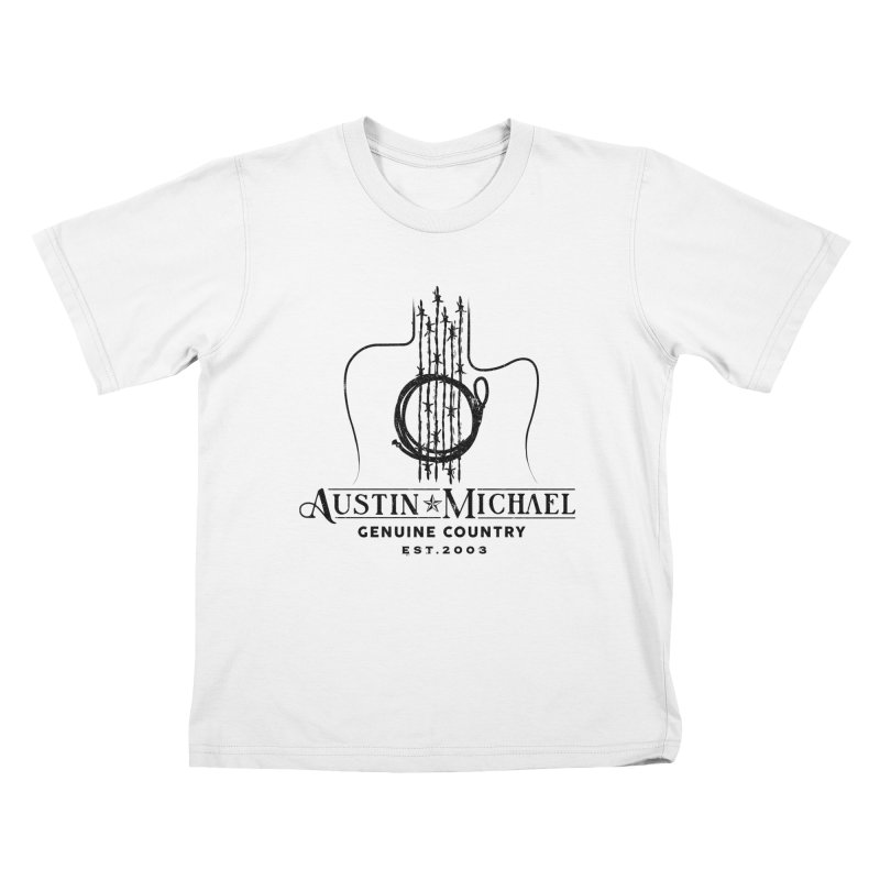 Austin Michael Genuine Country - Light Colors Kids T-Shirt by austinmichaelus's Artist Shop