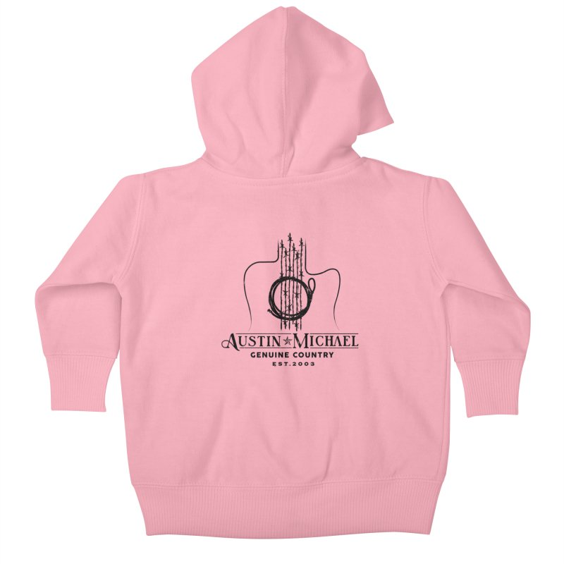 Austin Michael Genuine Country - Light Colors Kids Baby Zip-Up Hoody by austinmichaelus's Artist Shop