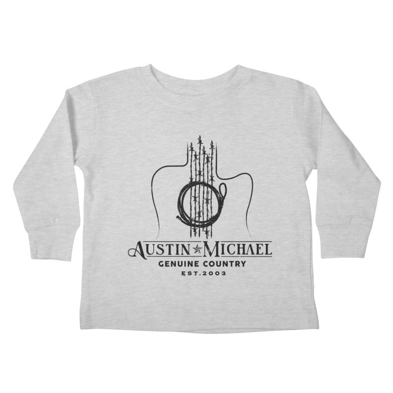 Austin Michael Genuine Country - Light Colors Kids Toddler Longsleeve T-Shirt by austinmichaelus's Artist Shop