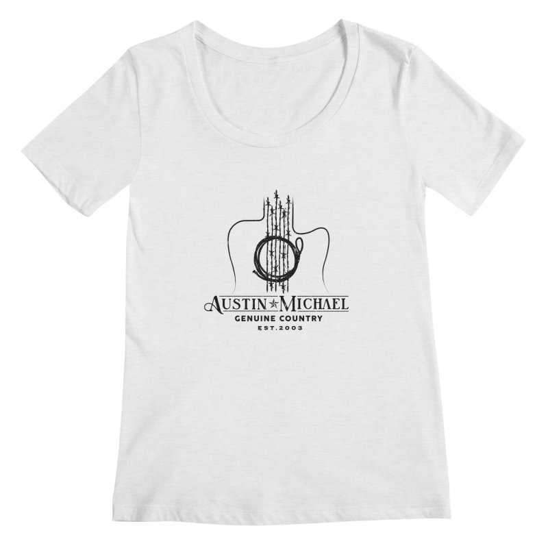 Austin Michael Genuine Country - Light Colors Women's Regular Scoop Neck by austinmichaelus's Artist Shop