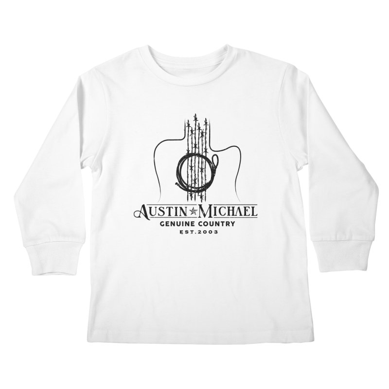 Austin Michael Genuine Country - Light Colors Kids Longsleeve T-Shirt by austinmichaelus's Artist Shop