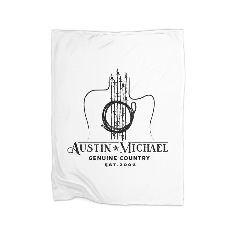 Austin Michael Genuine Country - Light Colors Home Fleece Blanket Blanket by austinmichaelus's Artist Shop