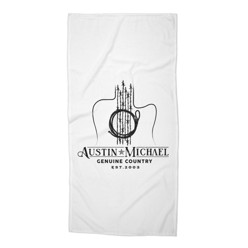 Austin Michael Genuine Country - Light Colors Accessories Beach Towel by austinmichaelus's Artist Shop