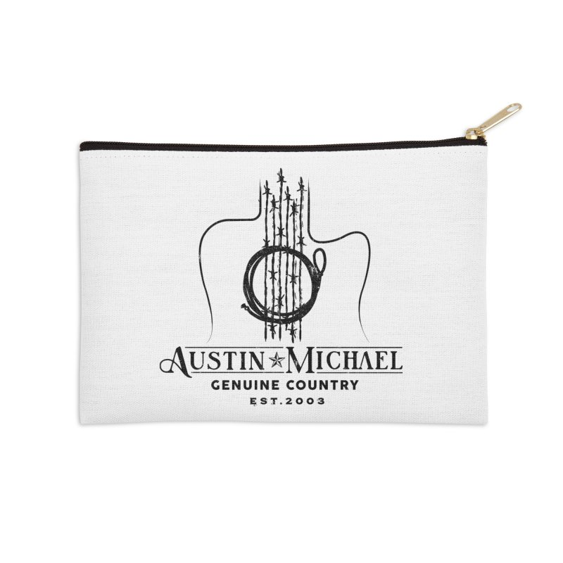 Austin Michael Genuine Country - Light Colors Accessories Zip Pouch by austinmichaelus's Artist Shop