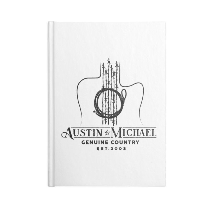 Austin Michael Genuine Country - Light Colors Accessories Lined Journal Notebook by austinmichaelus's Artist Shop
