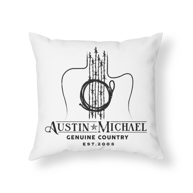 Austin Michael Genuine Country - Light Colors Home Throw Pillow by austinmichaelus's Artist Shop