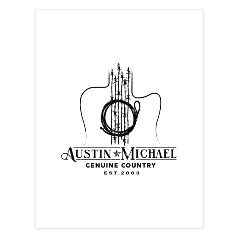 Austin Michael Genuine Country - Light Colors Home Fine Art Print by austinmichaelus's Artist Shop