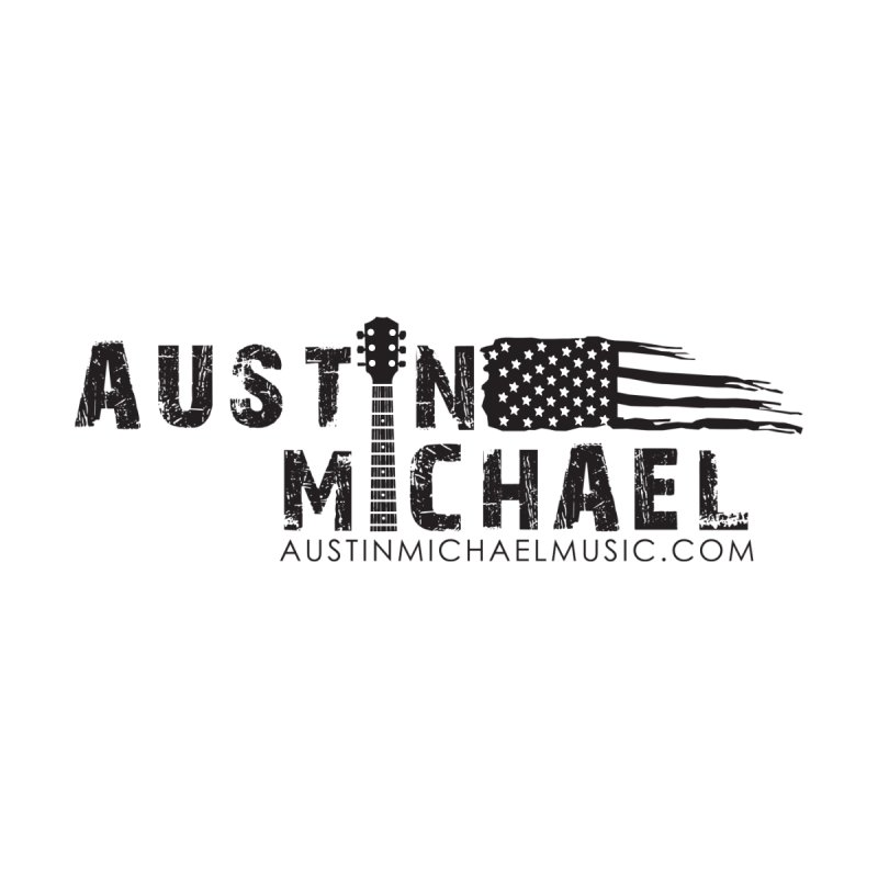 Austin Michael - USA  - for light colors Accessories Sticker by austinmichaelus's Artist Shop