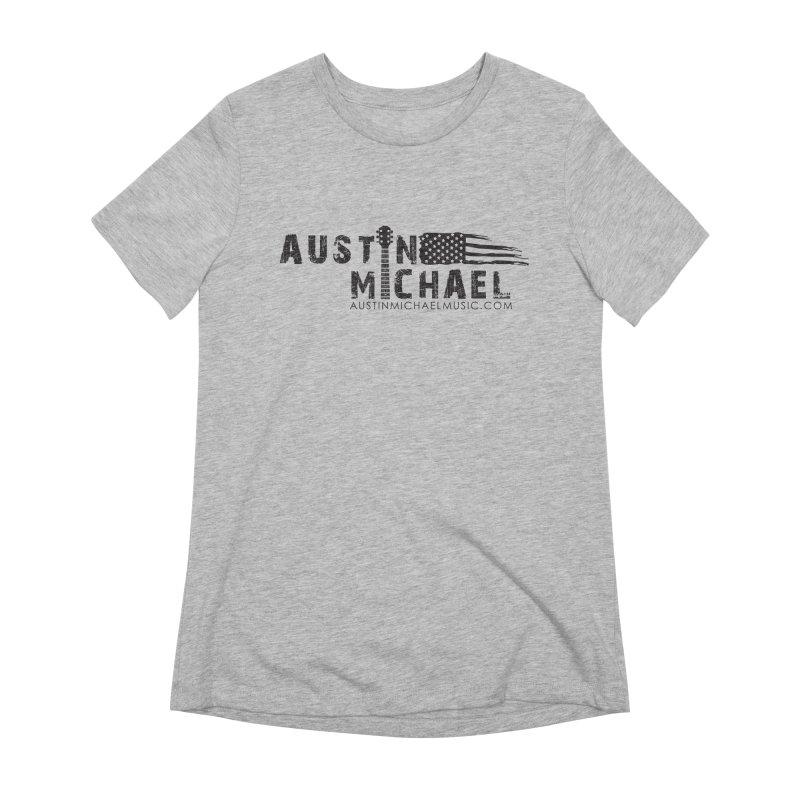 Austin Michael - USA  - for light colors Women's Extra Soft T-Shirt by austinmichaelus's Artist Shop