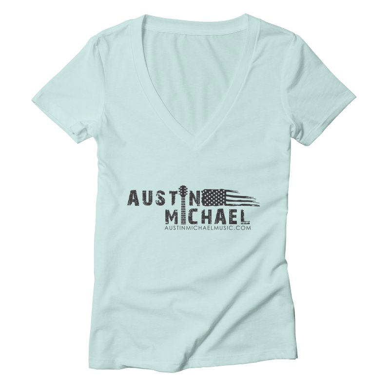 Austin Michael - USA  - for light colors Women's Deep V-Neck V-Neck by austinmichaelus's Artist Shop