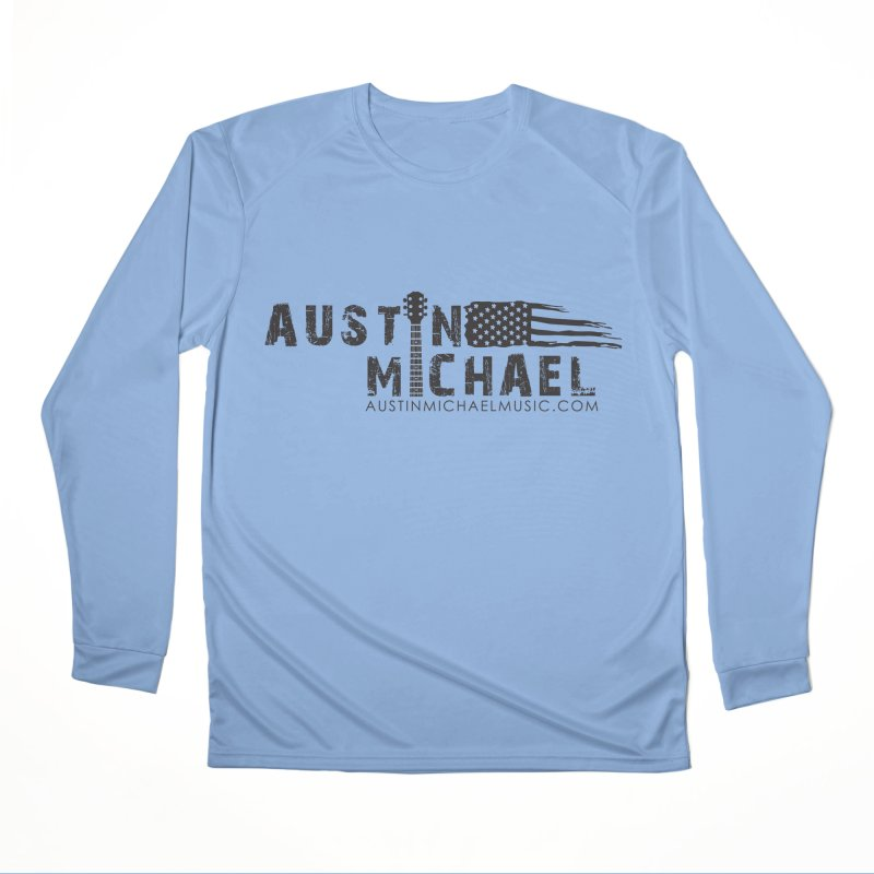 Austin Michael - USA  - for light colors Men's Performance Longsleeve T-Shirt by austinmichaelus's Artist Shop