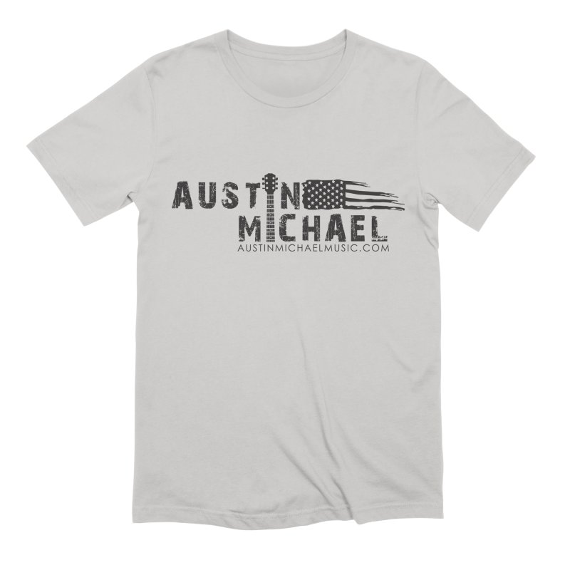 Austin Michael - USA  - for light colors Men's Extra Soft T-Shirt by austinmichaelus's Artist Shop