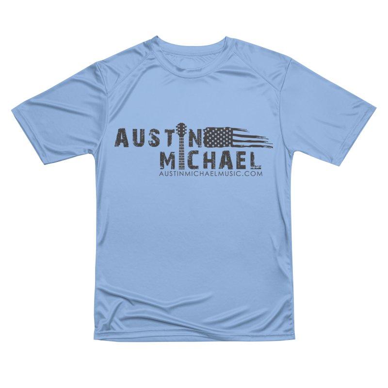Austin Michael - USA  - for light colors Women's Performance Unisex T-Shirt by austinmichaelus's Artist Shop