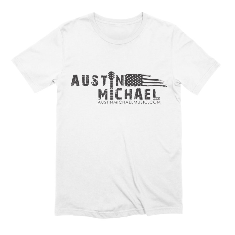 Austin Michael - USA  - for light colors Men's T-Shirt by austinmichaelus's Artist Shop