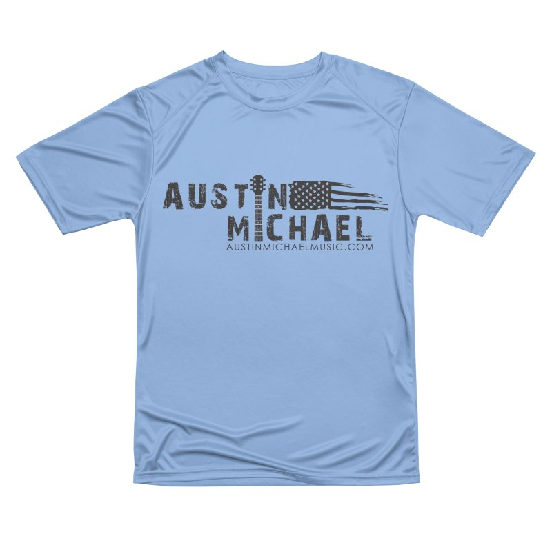 Austin Michael - USA  - for light colors Men's Performance T-Shirt by austinmichaelus's Artist Shop