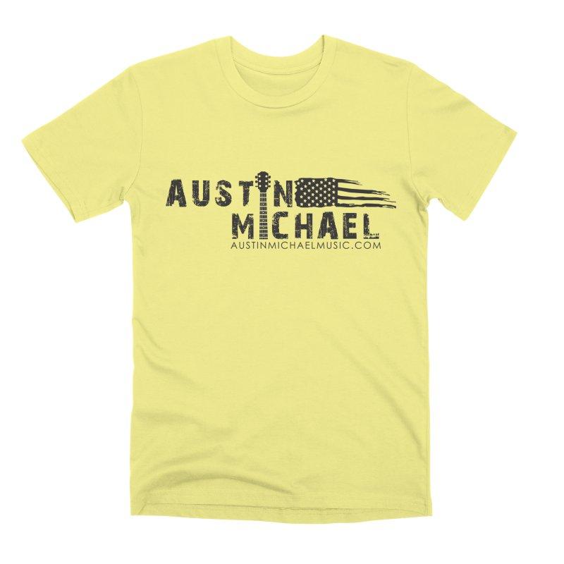 Austin Michael - USA  - for light colors Men's Premium T-Shirt by austinmichaelus's Artist Shop