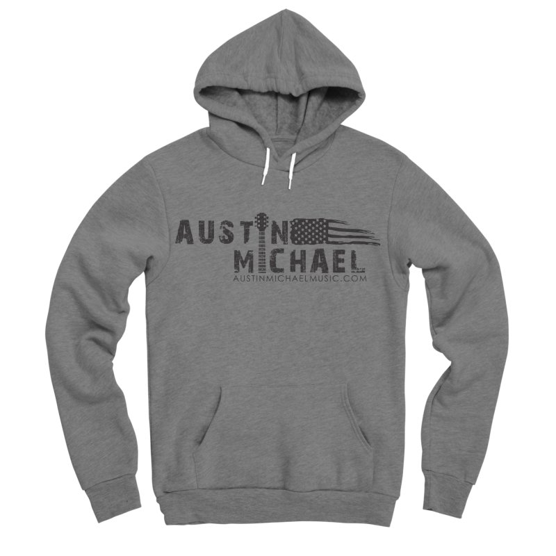 Austin Michael - USA  - for light colors Men's Sponge Fleece Pullover Hoody by austinmichaelus's Artist Shop