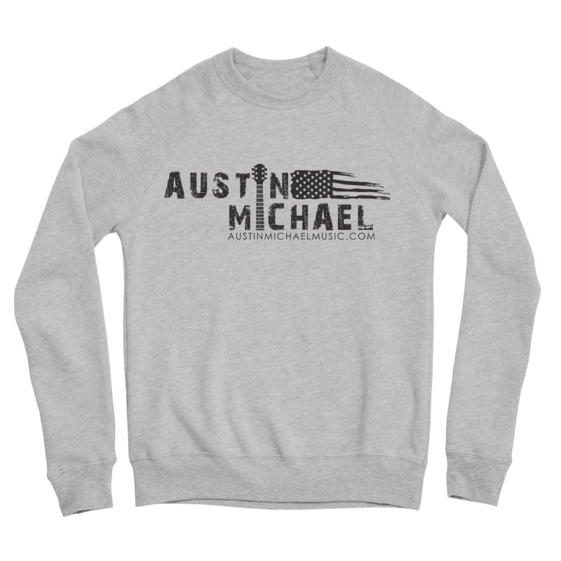 Austin Michael - USA  - for light colors Men's Sponge Fleece Sweatshirt by austinmichaelus's Artist Shop