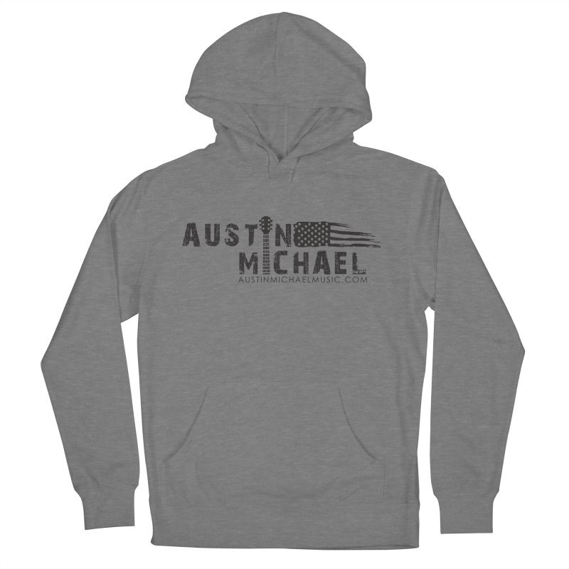 Austin Michael - USA  - for light colors Men's French Terry Pullover Hoody by austinmichaelus's Artist Shop
